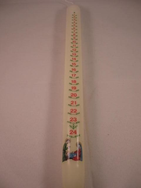 Adventskaars 30 x 2 cm (1)