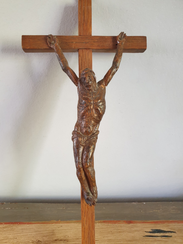 kruis eikenhout 27x12 CM (36)