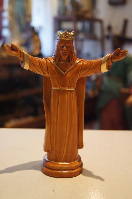 Jezus, gekroond gips 17 cm