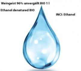 Alcohol/Weingeist/ Ethanol 96.4 % 100ml niet-gedenatureerd INCI: ethanol