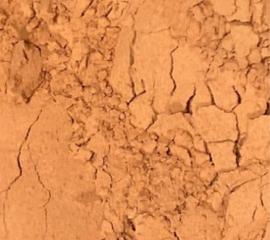Rode aarde va  50gr INCI: Illiet (rode klei)