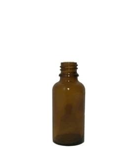 Apothekersflesje glas  50ml incl Sluiting en druppelteller