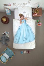 Snurk Princess Blue dekbedovertrek