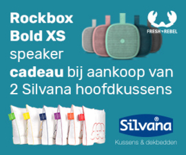 ACTIE - 2 st. Silvana Support Royale + gratis Rockbox Bold XS