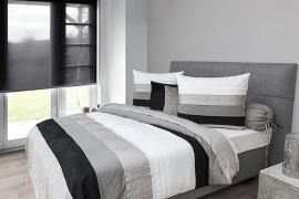HnL Charming Jari Grey dekbedovertrek 240 x 200/220