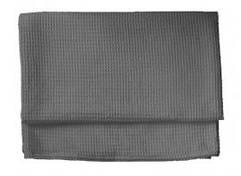 HnL Waffle Blanket dark Grey