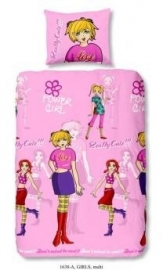 Kinder dekbedovertrek Kids Collection- 1638 girls multi