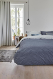 Beddinghouse Pure Sheets dekbedovertrek Cloud Blue