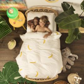 Snurk Banana dekbedovertrek