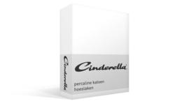 Cinderella Basic percaline hoeslaken katoen t/m 35 cm