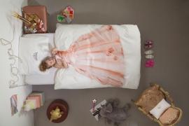 Snurk Princess Pink dekbedovertrek