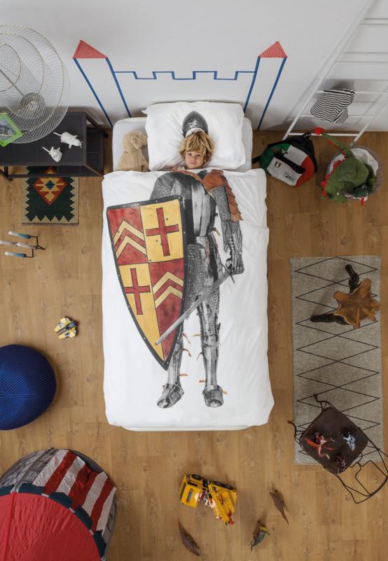 Snurk Knight Dekbedovertrek