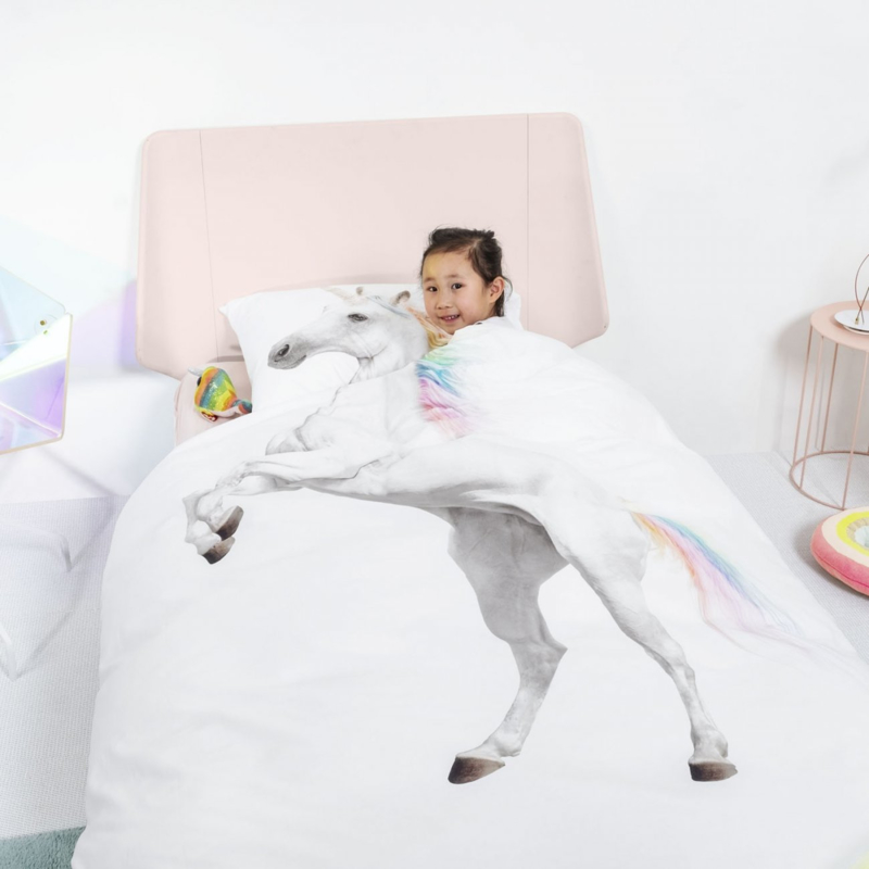 Snurk Unicorn dekbedovertrek