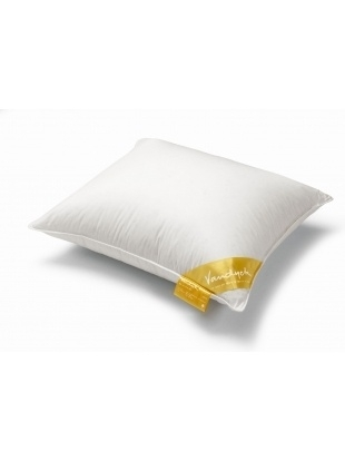 Vandyck pillow down - soft yellow  label