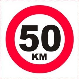 ALUMINIUM BORD 50 KM