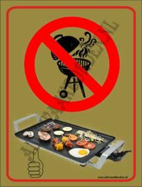 BQ verboden wel Bakplaat 274