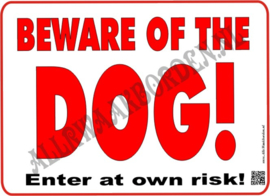 BEWARE OF THE DOG 216