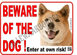 ENGELSTALIGE WAAKBORDEN....Elke hond op voorraad!