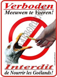 Verboden Meeuwen te voeren 275 (NL/FR.)