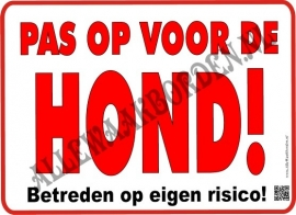 PAS OP VOOR DE HOND! 215
