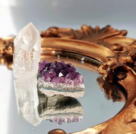 Amethist, Bergkristal & Rozekwarts