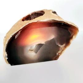 Agaat waxine houder - 8 -