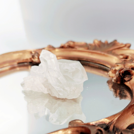 Medium Bergkristal - cluster -