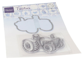 Clear stamp HT1654 Hetty's tractor