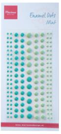 Enamel dots two mint PL4519