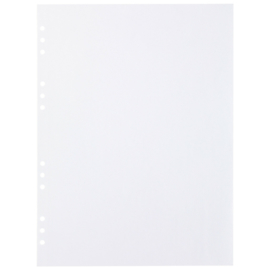 (Art.no. 920607) 20 vel MyArtBook Paper 120 GSM White drawingpaper Size 314 x 420 mm (A3)