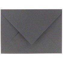 envelop rechthoekig 114x162mm - C6 donkergrijs (971)