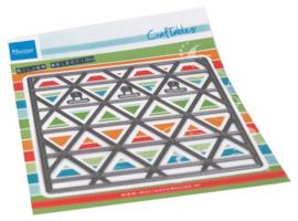 Craftables stencil Card display CR1521