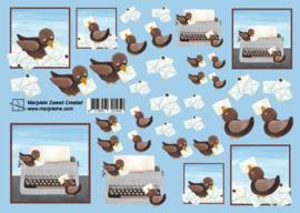 1450 vogeltjes met enveloppen