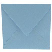 vierkante envelop (14 x 14 cm) lichtblauw (964) lijkt op ijsblauw 42