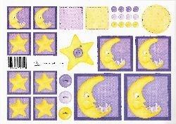knipvel: kindje op de maan