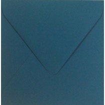 vierkante envelop (14 x 14 cm) petrol (962)
