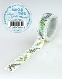 Washi tape Kersttakjes 15 mm x 5 m 61.7026