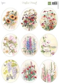 Knipvel Mattie's mooiste Field Bouquets Ovals MB0194