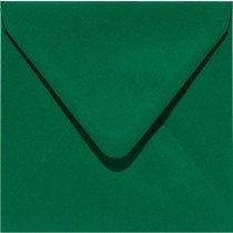 vierkante envelop (14 x 14 cm) dennengroen (950) vergelijkbaar met 18 kerstgroen