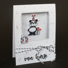 Clear stamp Eline's animals - Panda's EC0179