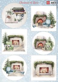 Knipvel Christmas at home VK9594