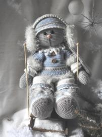 XXL Haakpakket Funny Bunny kledingset Winterfun
