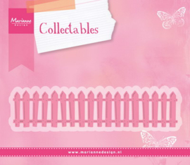 Collectables (COL1423) white picked fence