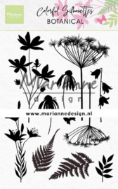 Clear stamp CS1048 Silhouette Botanical