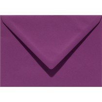 envelop rechthoekig 114x162mm - C6 aubergine (909)