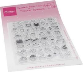 Clear stamp Marjoleine's Bujo - Tracker symbols MZ1909