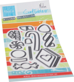Craftables stencil Candy by Marleen CR1565