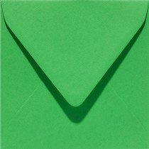 vierkante envelop (14 x 14 cm) grasgroen (907) voorheen 07 grasgroen