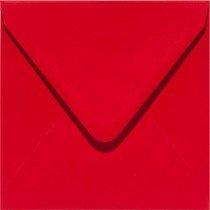 vierkante envelop (14 x 14 cm) rood (918) voorheen 12 fiëstarood