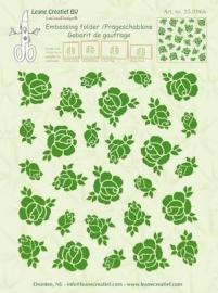 Embossing folder Leane: roses (350.966)
